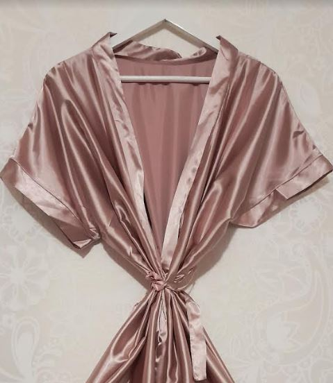Rose Gold Bridal Wedding Robe | Beautiful Bride, Bridesmaid, Mother Robes