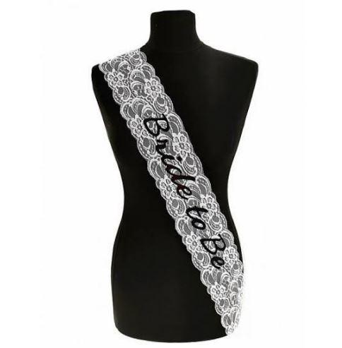 Personalised Bridal Wedding Sash   Customised Lace Sash   Bride   Flowergirl   Bridesmaid   Mother of Bride/Groom