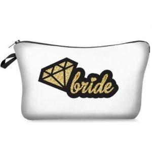 Bride Make up Bag | Bride Wedding Organiser Necessity | Bride Gift