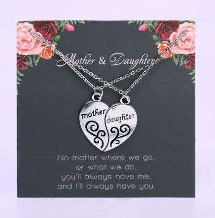 To My Mom   Mother of the Bride   Mother of the Groom   Thank you Wedding Gift   Necklace on a Card