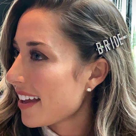 BRIDE diamante' hairclip hairpin | Bride Hair Accessories | Hen's party