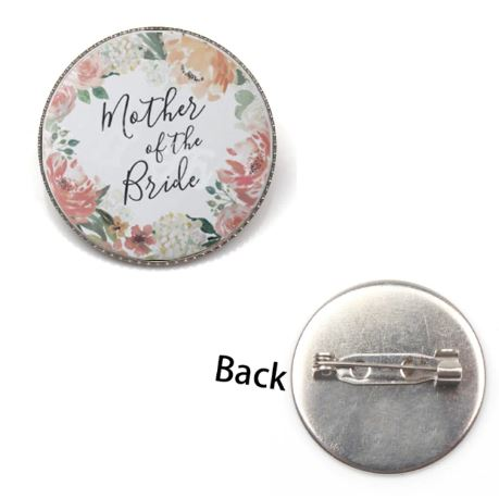 Wedding Badge | Mother of the Bride