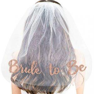 Hen's Party Bridal Bride To Be Veil | Bachelorette