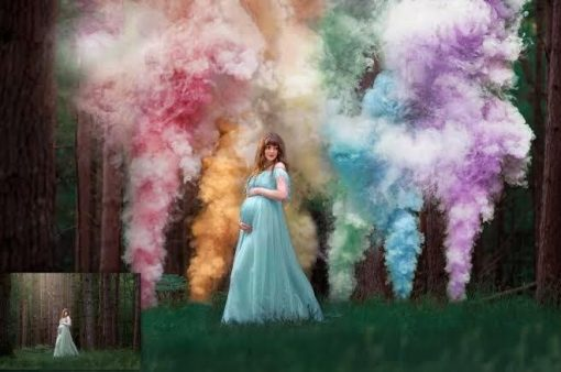 Colourful Smoke Bombs | Gender Reveal | Creating The Best Photos and Memories