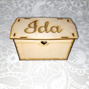 Personalised Wooden Gift Box | Customised Wedding Gift | Bride, Bridesmaid, Mother of The Bride