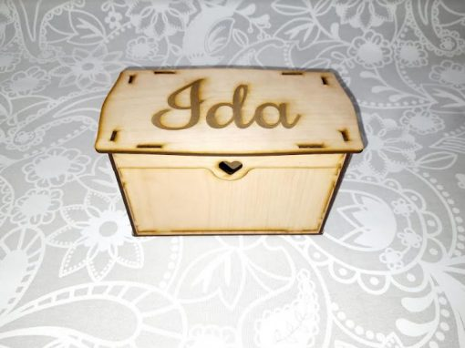 Personalised Wooden Gift Box   Customised Wedding Gift   Bride, Bridesmaid, Mother of The Bride