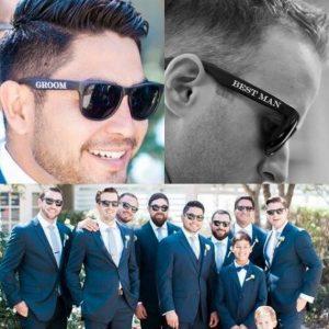 Sunglasses for Groom   Bestman   Groomsman   Wedding Sunglasses