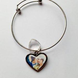 Personalised Bangle | Perfect Wedding Gift | Bridesmaid Thank You Wedding Gift