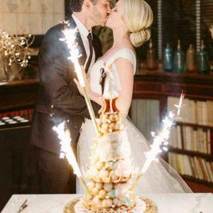 Wedding Cake Sparkler | Bottle Sparkler | Wedding Sparklers pack of 3 | Create Your Wedding Ambiance