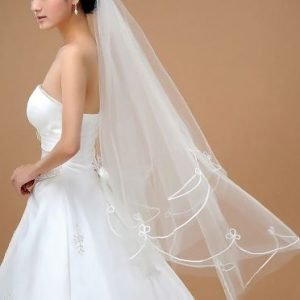 Beautiful Bridal Wedding Veil with elegance | Bride Veil