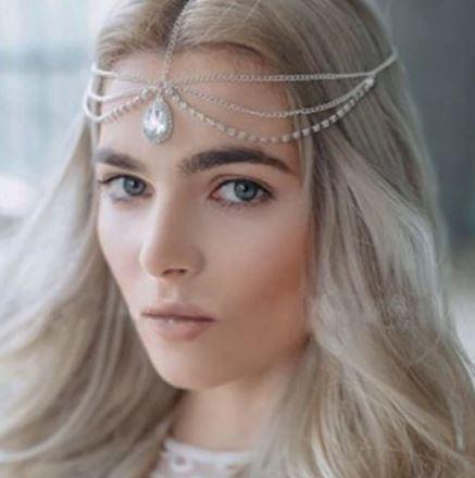 Bridal Hairpiece   Headchain   Hair Accessories