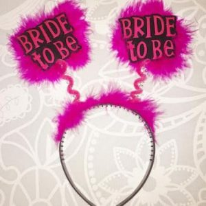 Hens Party | Bachelorette | Bride To Be Hairpiece Alice Band