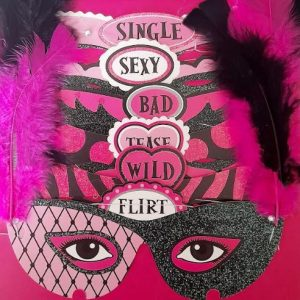Hens Party | Bachelorette | Bride To Be with Bridesmaid Party Masks