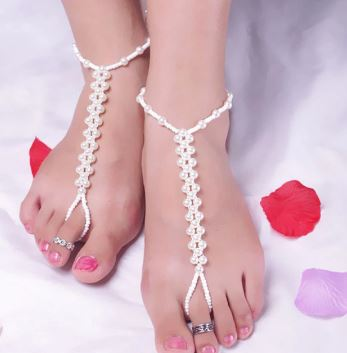 Anklet Bracelet   Barefoot Beach Sandals