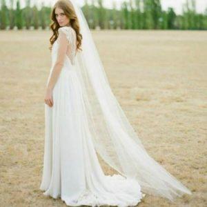 Stunning Cathedral Bridal Wedding Veil | Bride Veil | 2 metres veil