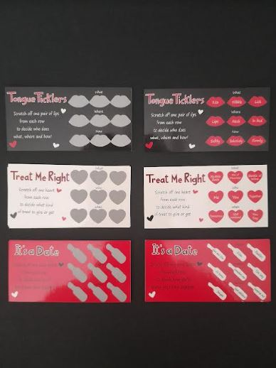 Sex Game   Lover's Scratchcard Game   Couple Games
