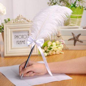 Wedding Ceremony Pen to sign Wedding Registration