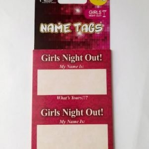 Hen's Party | Bachelorette | Girls Night Out! Name Tags | Bride Accessories